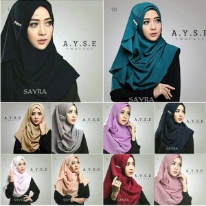Tutorial Hijab Pashmina Simple Terkini