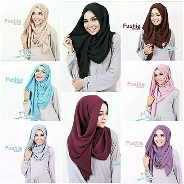 Fashion Jilbab Simple ke Kampus