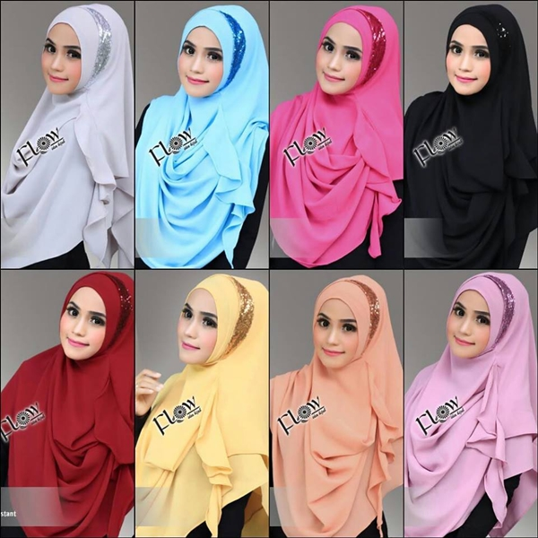 Model Jilbab Pashmina Instan Moon