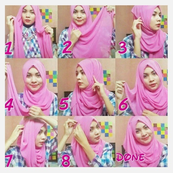 Tutorial Hijab Pashmina Model Terbaru 2017 Modis